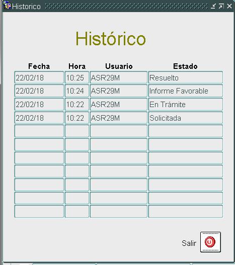 TERE - Historico