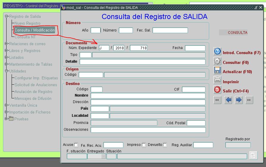 01 registro consulta numero