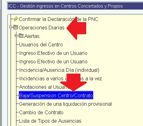 icc menu bajas